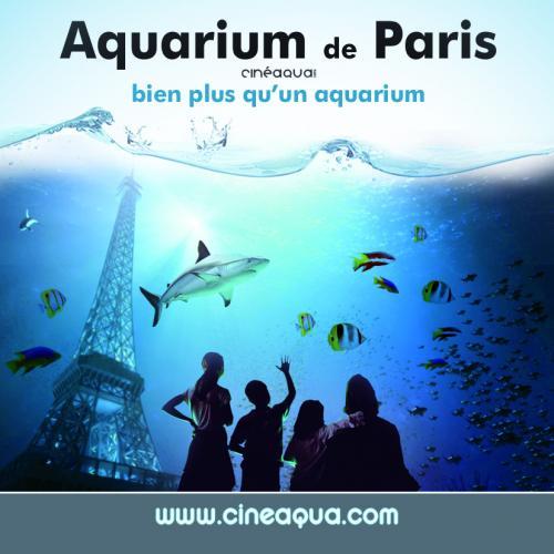Aquarium de paris paris agenda des sorties concert for Aquarium de paris jardin du trocadero